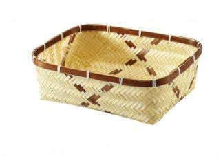 Bambukorg rektangulär -