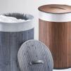 Tvättkorg i bambu, 2 färger