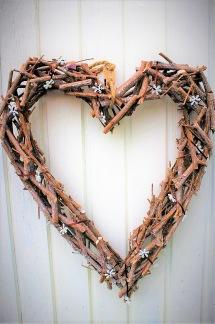Hjärta i trä -
