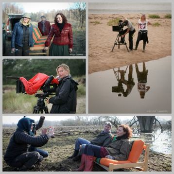 Shortfilm Carry a Couch with actors Eva Westerling and Martin Kotal, Wallander season 2 with assistent camera Malin French