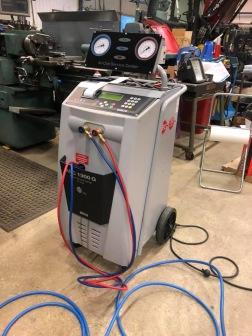 Utrustning för AC-service