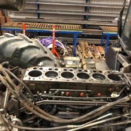 Renovering av Claas traktor 2