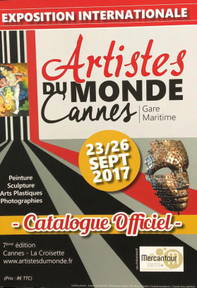 Poster Artistes Du Monde Cannes 2017