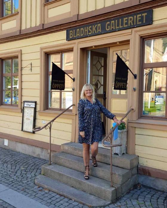 Bladhska Galleriet Skara Sweden