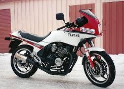 Första tunga mc:n, en klassisk Yamaha XJ600