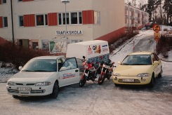 Från Rolands Trafikskola, 80-talet.