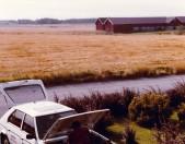 Roland fixar med en Simca Horizon, årets bil 1979