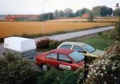 Två Nissan i Kolbäck