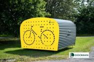 Dooman, Cykelgarage, Trygg förvaring, Minigarage, mopedgarage, Motorcykelgarage, barnvagsförvaring, cykelstöld, www.dooman.se