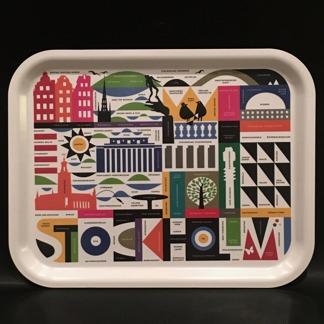 Bricka - Stockholm, 2 storlekar - Stockholmsbricka stor