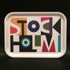 Bricka - Stockholm, 2 storlekar - Stockholmsbricka liten