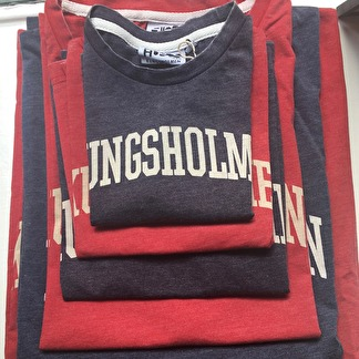 Kungsholmen t-shirt, röd, barn