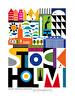 Grafiska prints, 11 olika motiv - Stockholm