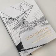 Stockholm målarbok
