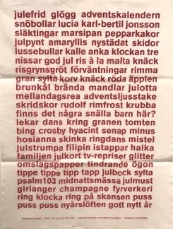 Kökshandduk - God Jul & Gott Nytt År - God Jul & Gott Nytt År
