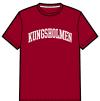 Kungsholmen T-shirt, herr - T-shirt, herrmodell, burgundy, XXL