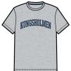 Kungsholmen T-shirt, herr - T-shirt, herrmodell, grå, XXL