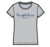 Kungsholmen T-shirt, dam - T-shirt, dammodell, grå, XL
