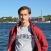 Kungsholmen hoodie röd