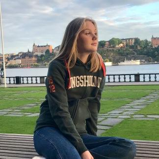 Kungsholmen hoodie - grön - XS