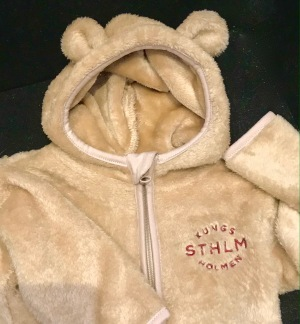 Kungsholmen baby-hoodie - Baby-hoodie Stl. 50/56