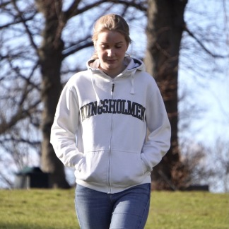 Kungsholmen hoodie - off-white - XS
