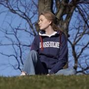 Kungsholmen hoodie - blå