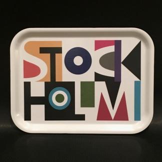 Bricka - Stockholm, liten - Bricka, stockholm, liten
