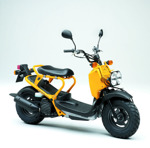 Vi kör Honda Zoomer 50cc