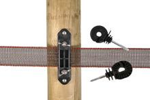 Isolatorer för tråd, rep och band