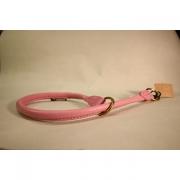 Skinnhalsband - Rosa