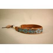 Skinnhalsband  Brun - Dekorband