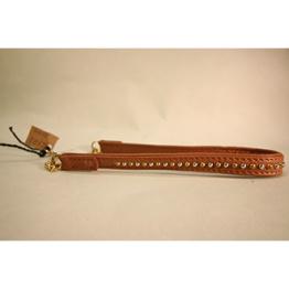 Skinnhalsband Brun - 35 cm