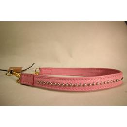 Skinnhalsband Rosa - 30 cm