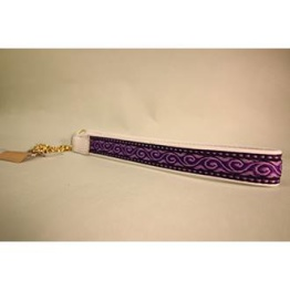Skinnhalsband Cerise - dekorband