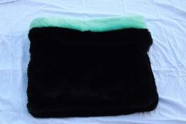 Sovsäck svart - Svart 80x80 cm
