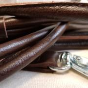 Läderkoppel Rundsytt - Brunt