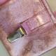 Godisficka Med Magnet Och Nummerlappshållare - Glitterrosa