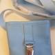 Godisficka Med Magnet Och Nummerlappshållare - Blå