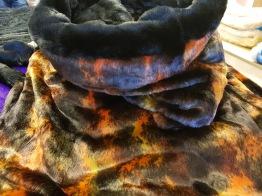 Sovsäck 110x80 - Höst & svart