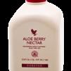 Aloe Vera - Aloe Berry Nectar, Stabiliserad Aloe Vera Gel med smak av tranbär och äpple. 1 Liter