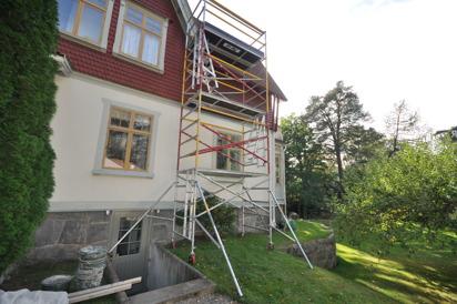 Djup byggställning = Två plattformar per våning (Rekommenderas för ovana)