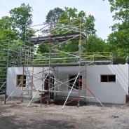 Byggställning för att resa hus, hyra byggnadsställning Stockholm (3)