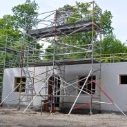 Byggställning för att resa hus, hyra byggnadsställning Stockholm (4)