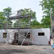 Byggställning för att resa hus, hyra byggnadsställning Stockholm (5)