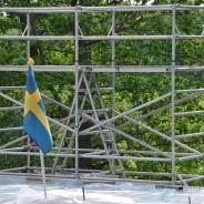 Byggställning för att resa hus, hyra byggnadsställning Stockholm (12)