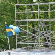 Byggställning för att resa hus, hyra byggnadsställning Stockholm (14)