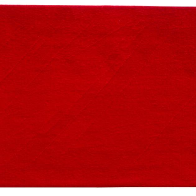 Minnet av rött (diptyk) gobelinväv/lin, 90x250, Borgerligt vigselrum Mörbylånga kommunhus (foto: Åsa Jonason)