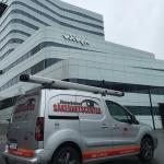 Servicebil inbrottslarm Västerbottens Säkerhetscenter AB