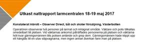 Kamera Gripen Polis Securitas Direct Observer Direct Umeå Västerbotten